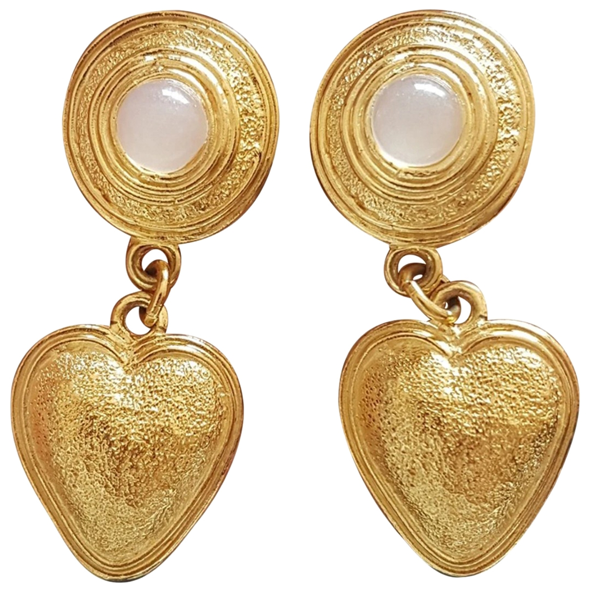 Poggi \N OhrRing in  Gold Metall