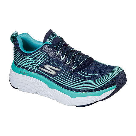 Skechers Go Run Max Cushioning Elite Womens Running Shoes, 6 Medium, Blue