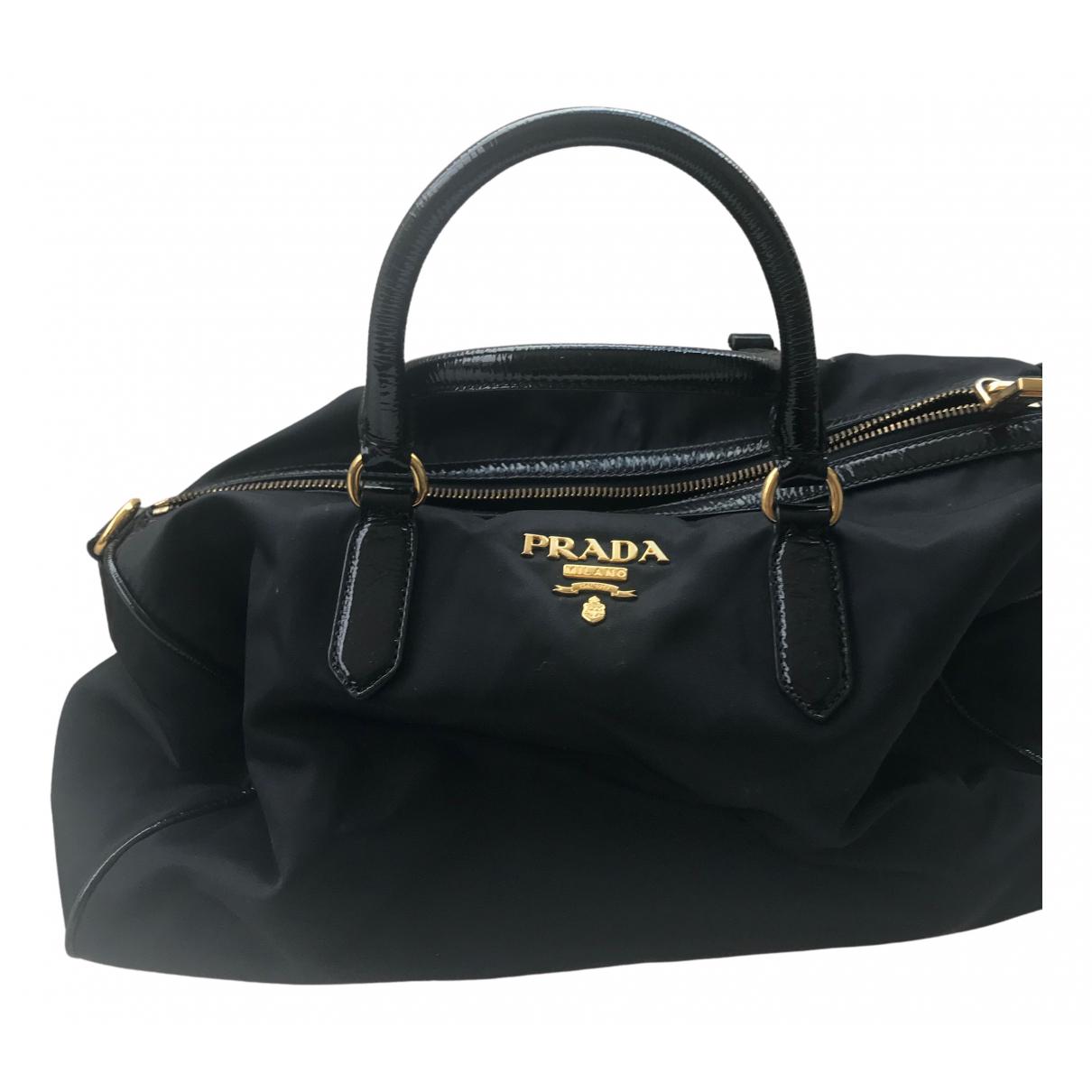 Prada Tessuto  Black handbag for Women N