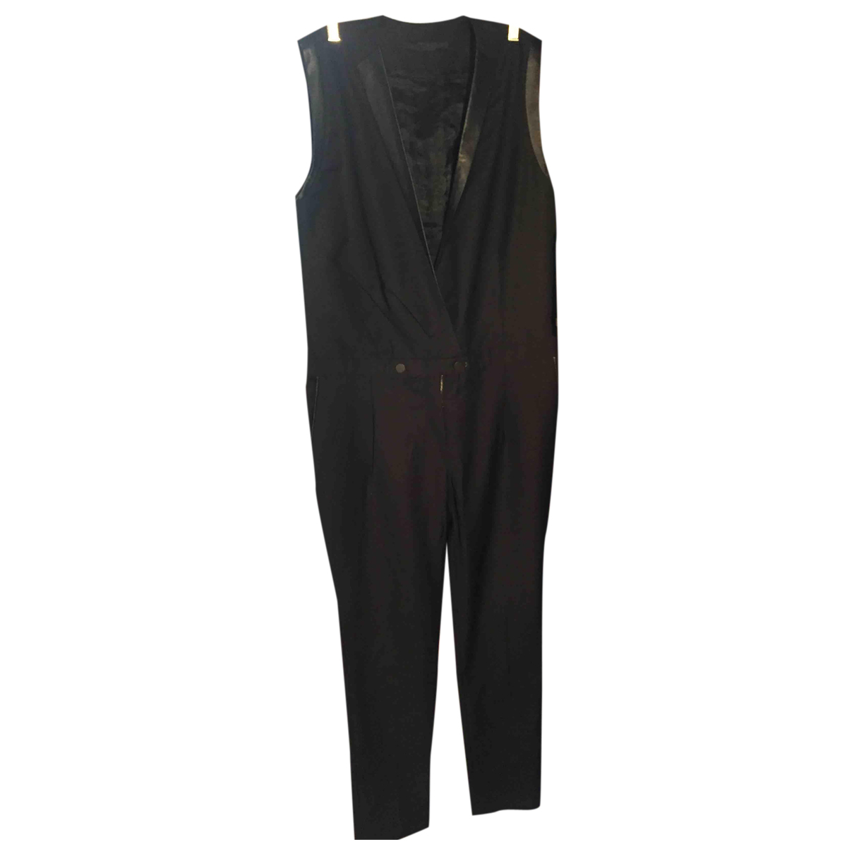 Karl Lagerfeld N Black jumpsuit for Women 40 FR