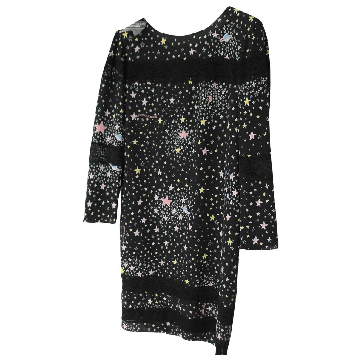 Mini vestido de Seda Moschino