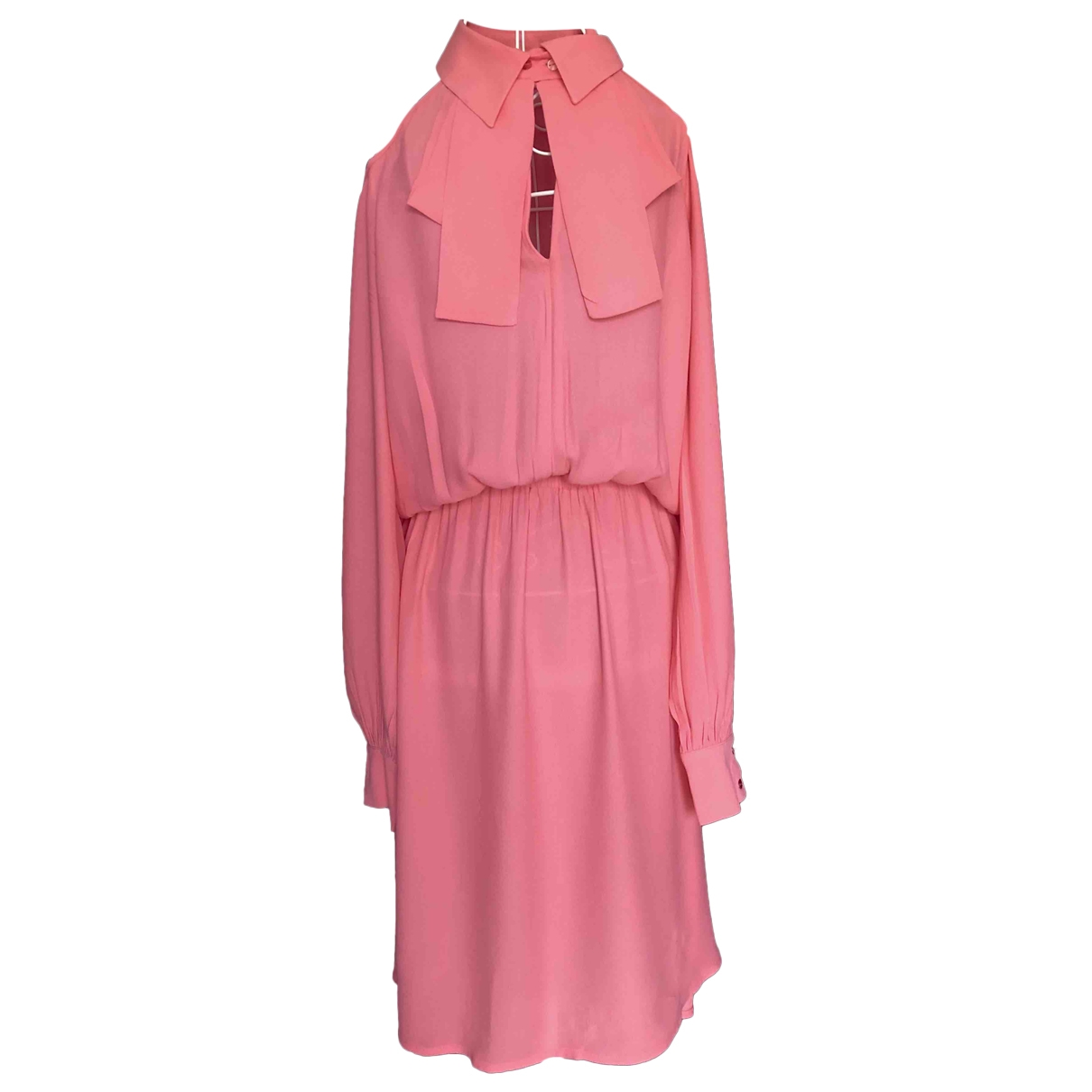 Non Signé / Unsigned \N Pink dress for Women S International