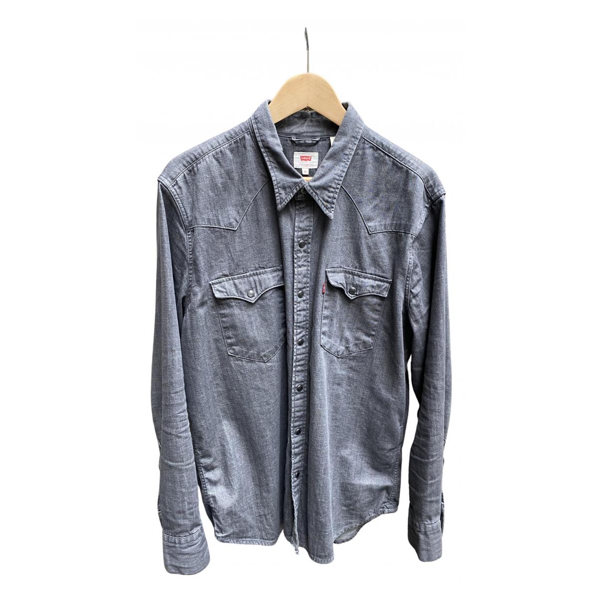 Levis \N Hemden in  Grau Baumwolle