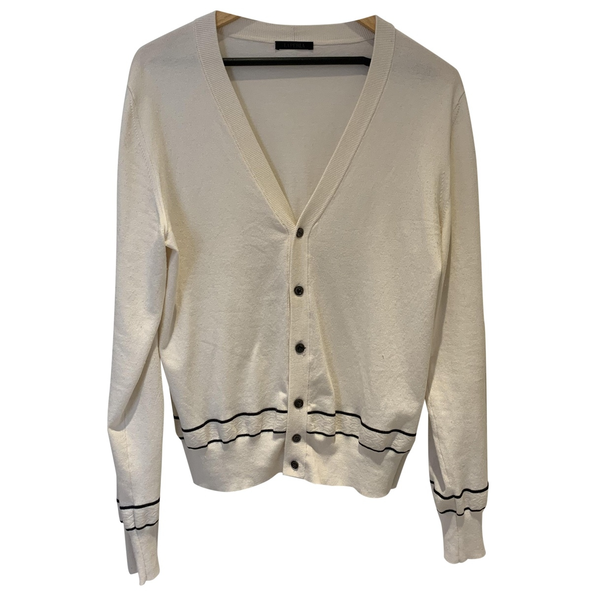 La Perla \N Pullover.Westen.Sweatshirts  in  Weiss Synthetik