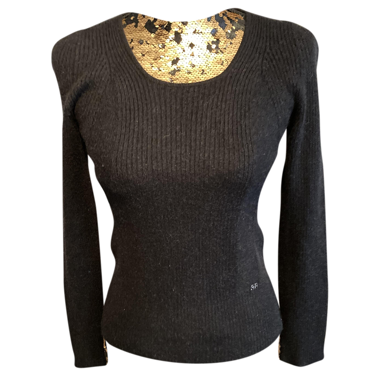 Sonia Rykiel - Pull   pour femme en laine - noir