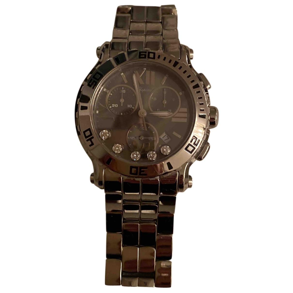 Chopard Happy Sport Uhr in  Silber Stahl