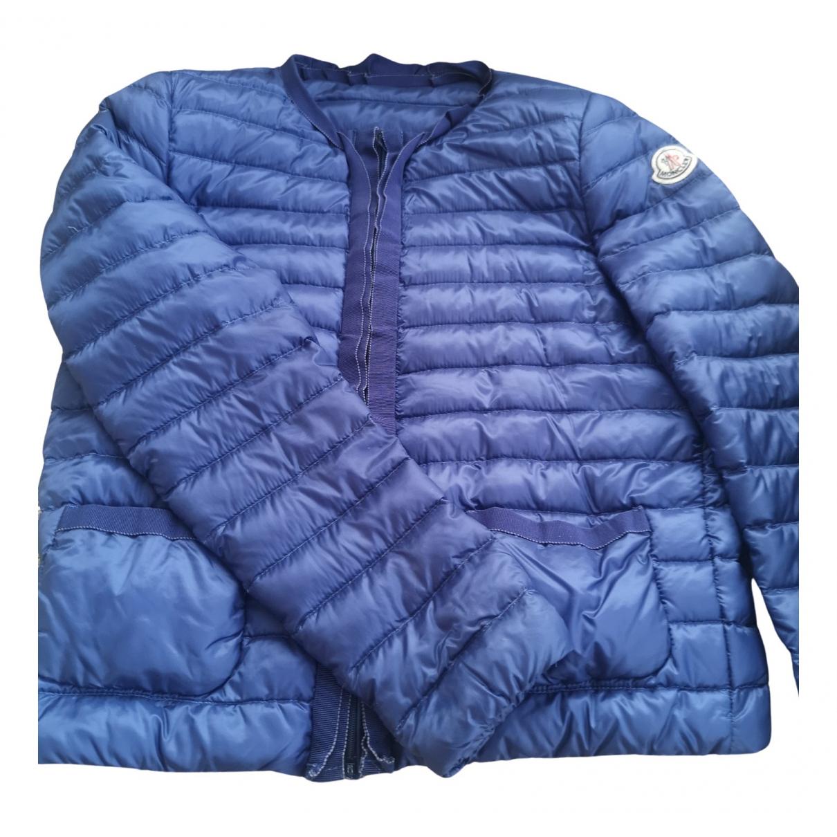 Moncler - Manteau Classic pour femme - bleu