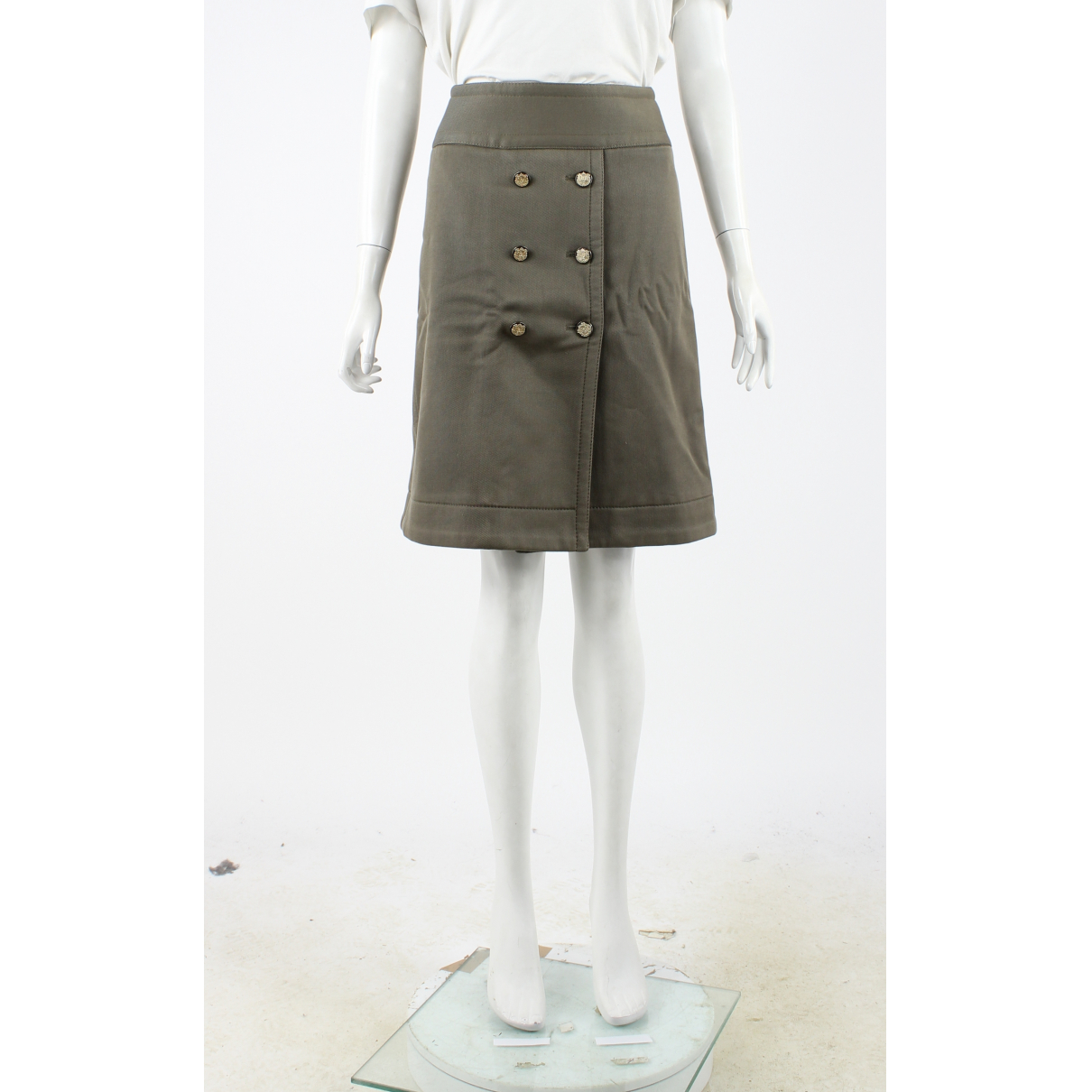 Dolce & Gabbana N Green Cotton skirt for Women 40 FR