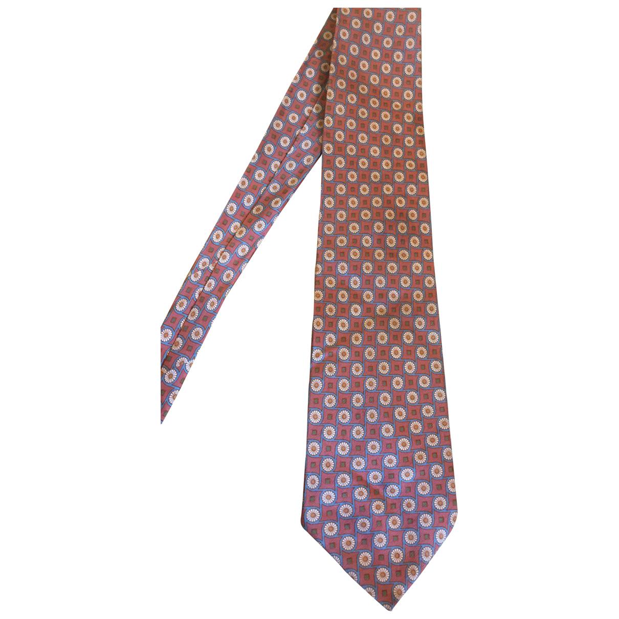 Lanvin \N Krawatten in  Bunt Seide