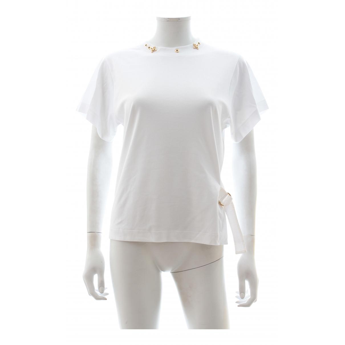 Louis Vuitton - Top   pour femme en coton - blanc