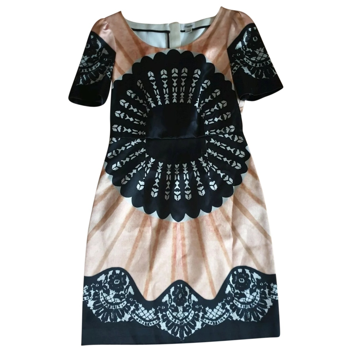Temperley London - Robe   pour femme en soie - multicolore