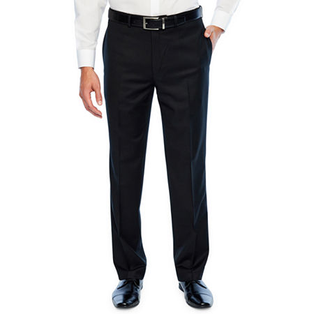 Collection By Michael Strahan Slim Fit Stretch Suit Pants, 36 32, Black