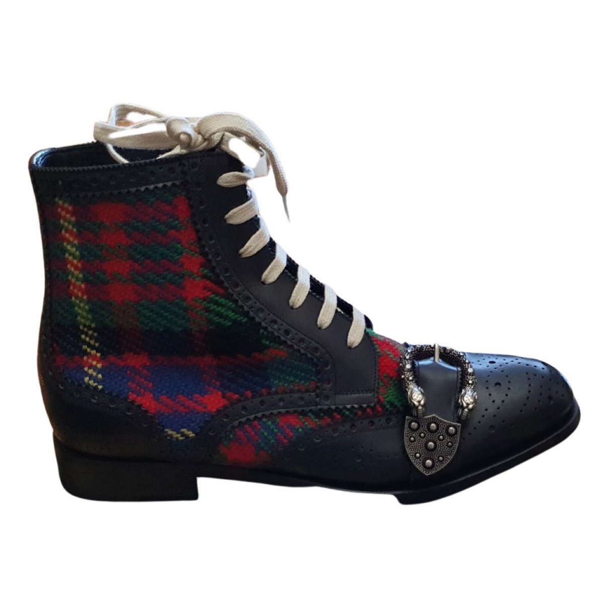 Gucci - Bottes.Boots Queercore pour homme en cuir - multicolore