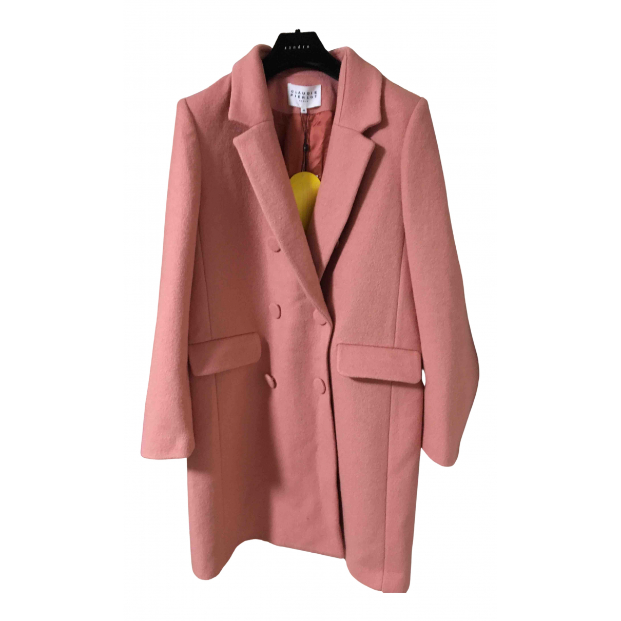 Claudie Pierlot - Manteau Fall Winter 2019 pour femme - rose