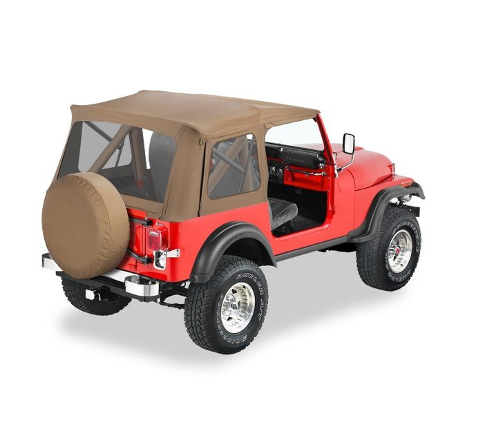Bestop 51599-37 Spice Supertop Classic Soft Top Jeep CJ-7 | Wrangler 1976-1995