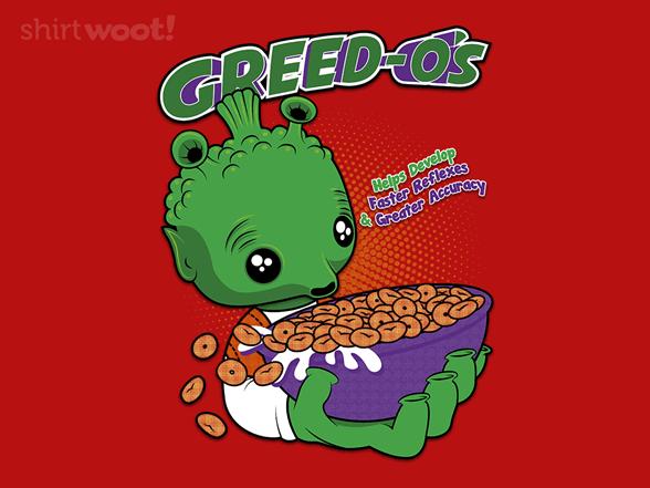 Greed-os T Shirt