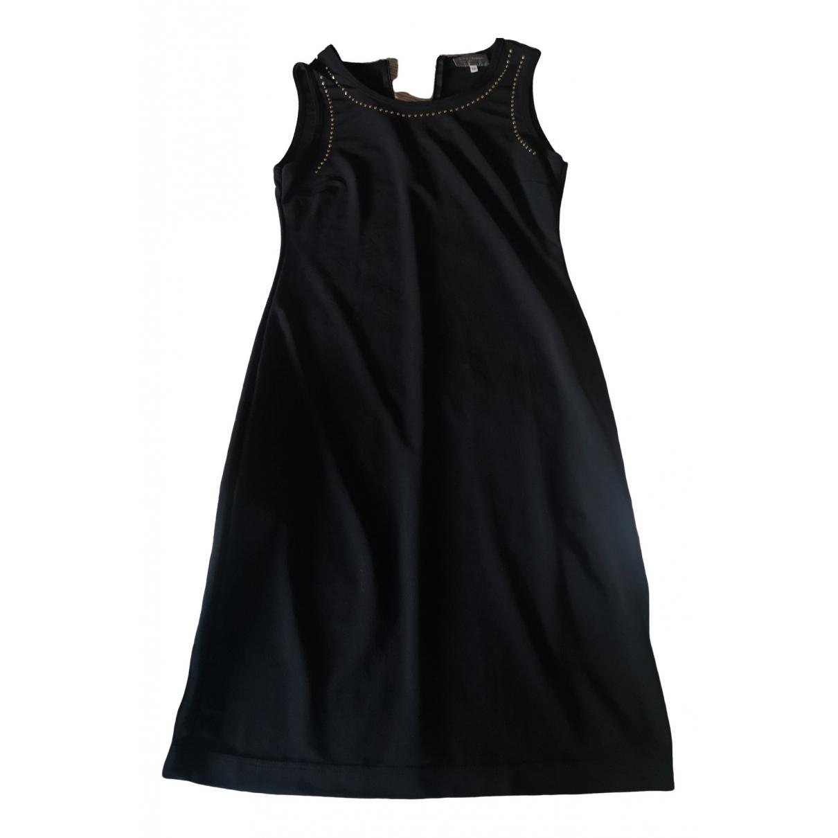 Paco Rabanne \N Kleid in  Bunt Baumwolle - Elasthan