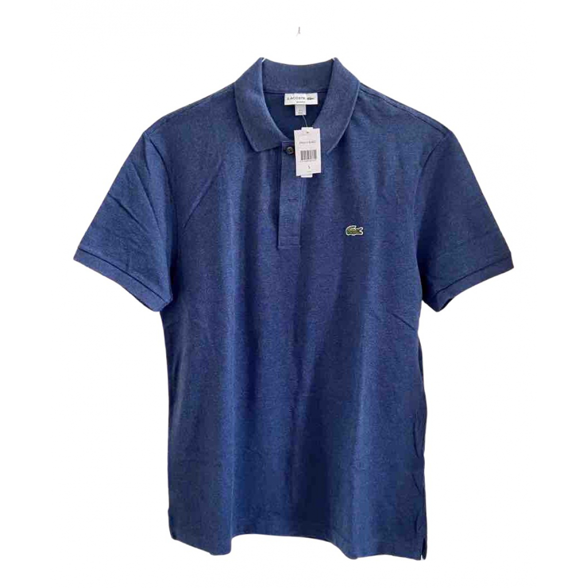 Lacoste N Blue Cotton Polo shirts for Men 5 0 - 6