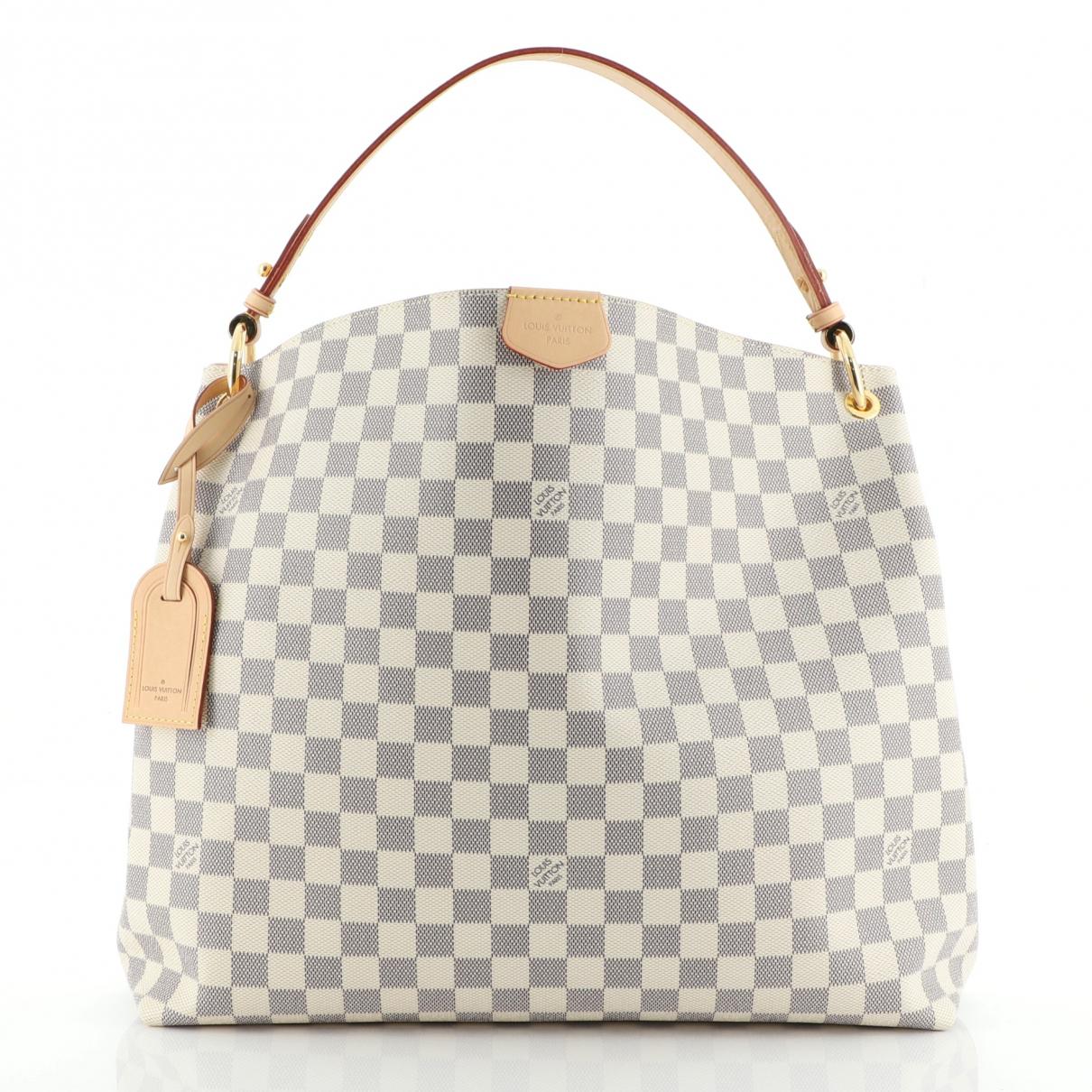 Louis Vuitton \N White Leather handbag for Women \N