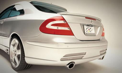 Lorinser 488 0209 40 Rear Deck Lid Spoiler Mercedes-Benz CLK320 / CLK550 Coupe 02-09