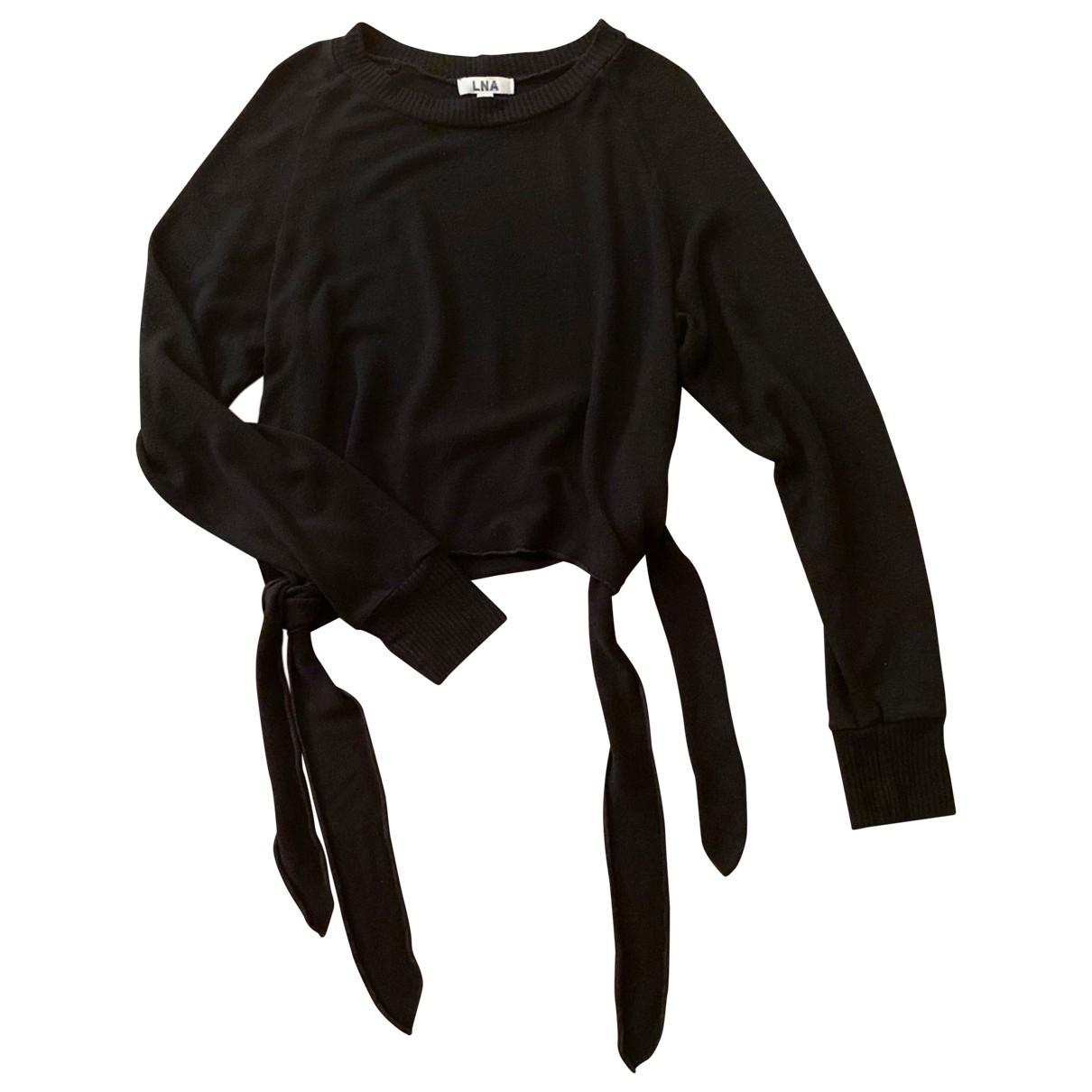 Lna \N Black Knitwear for Women XS International