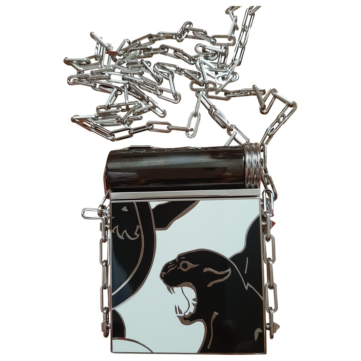 Valentino Garavani \N Clutch in  Silber Metall