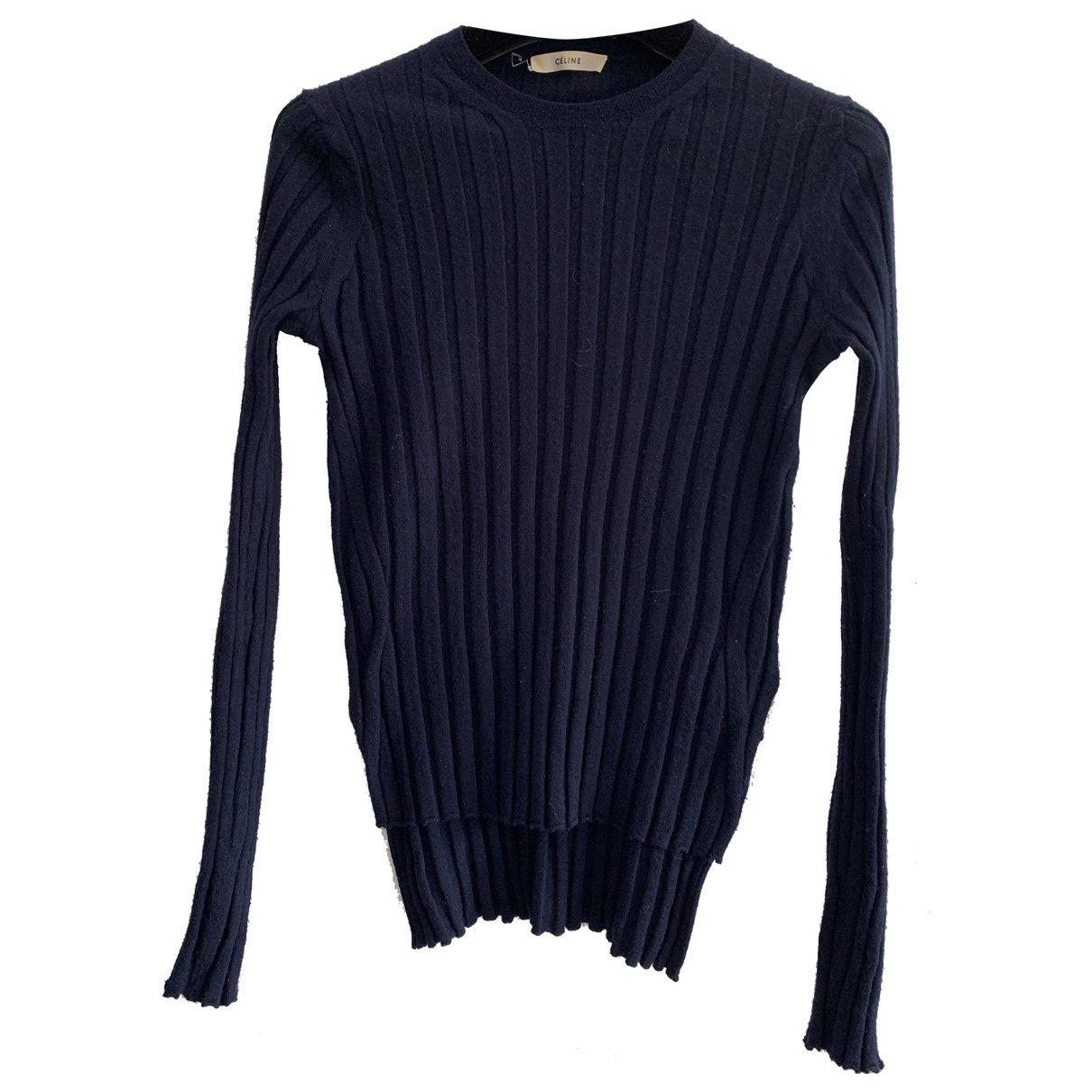 Celine \N Navy Wool Knitwear for Women XS International