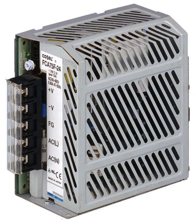 Cosel , 75W Embedded Switch Mode Power Supply SMPS, 24V dc, Enclosed