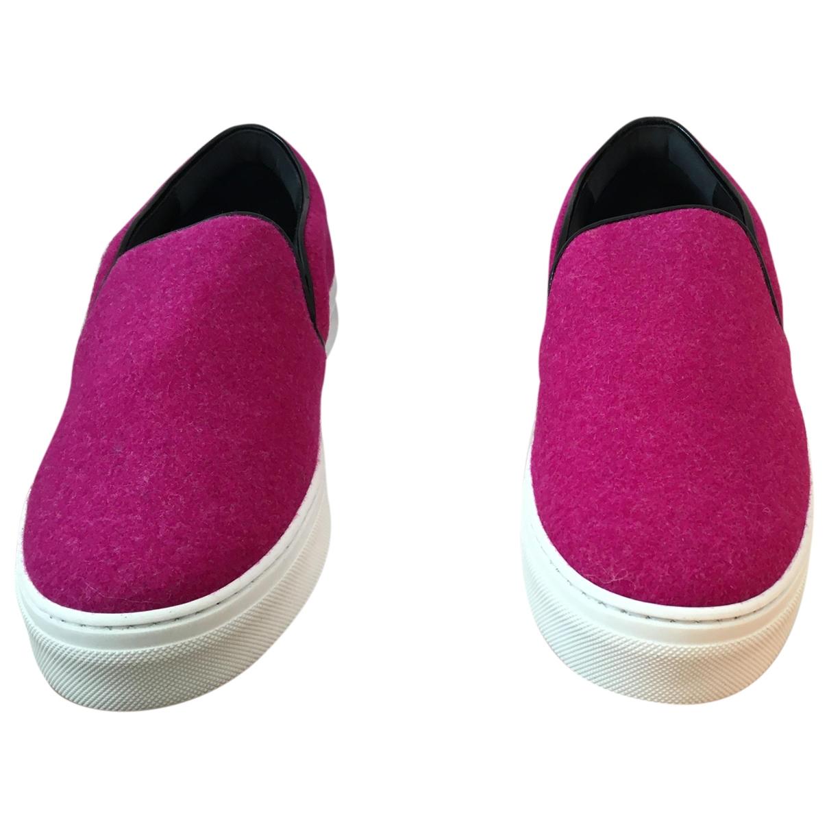 Celine - Baskets   pour femme en toile - rose