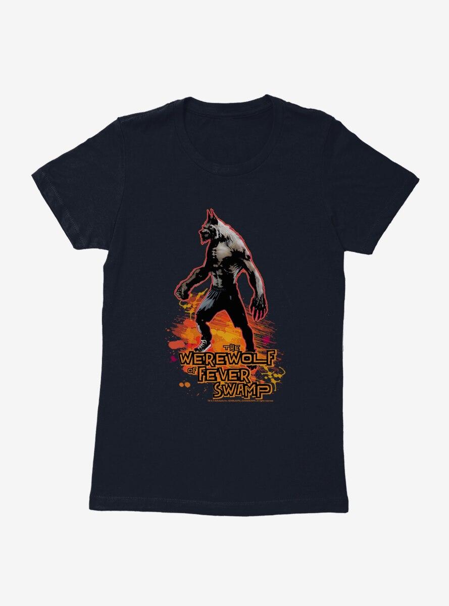 Goosebumps The Werewolf Of Fever Swamp Womens T-Shirt