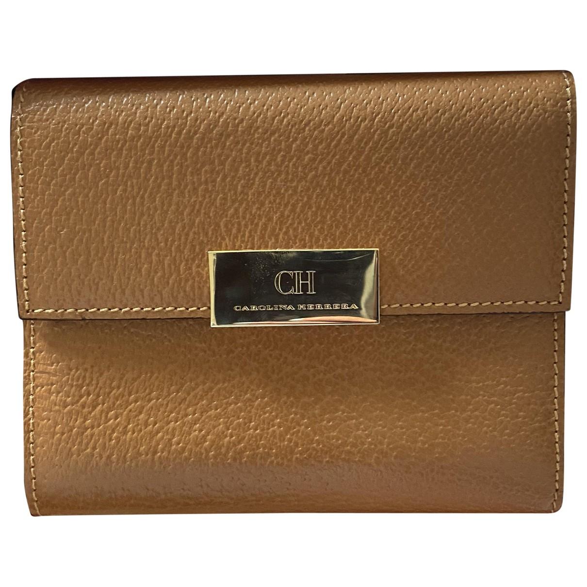 Carolina Herrera \N Leather wallet for Women \N