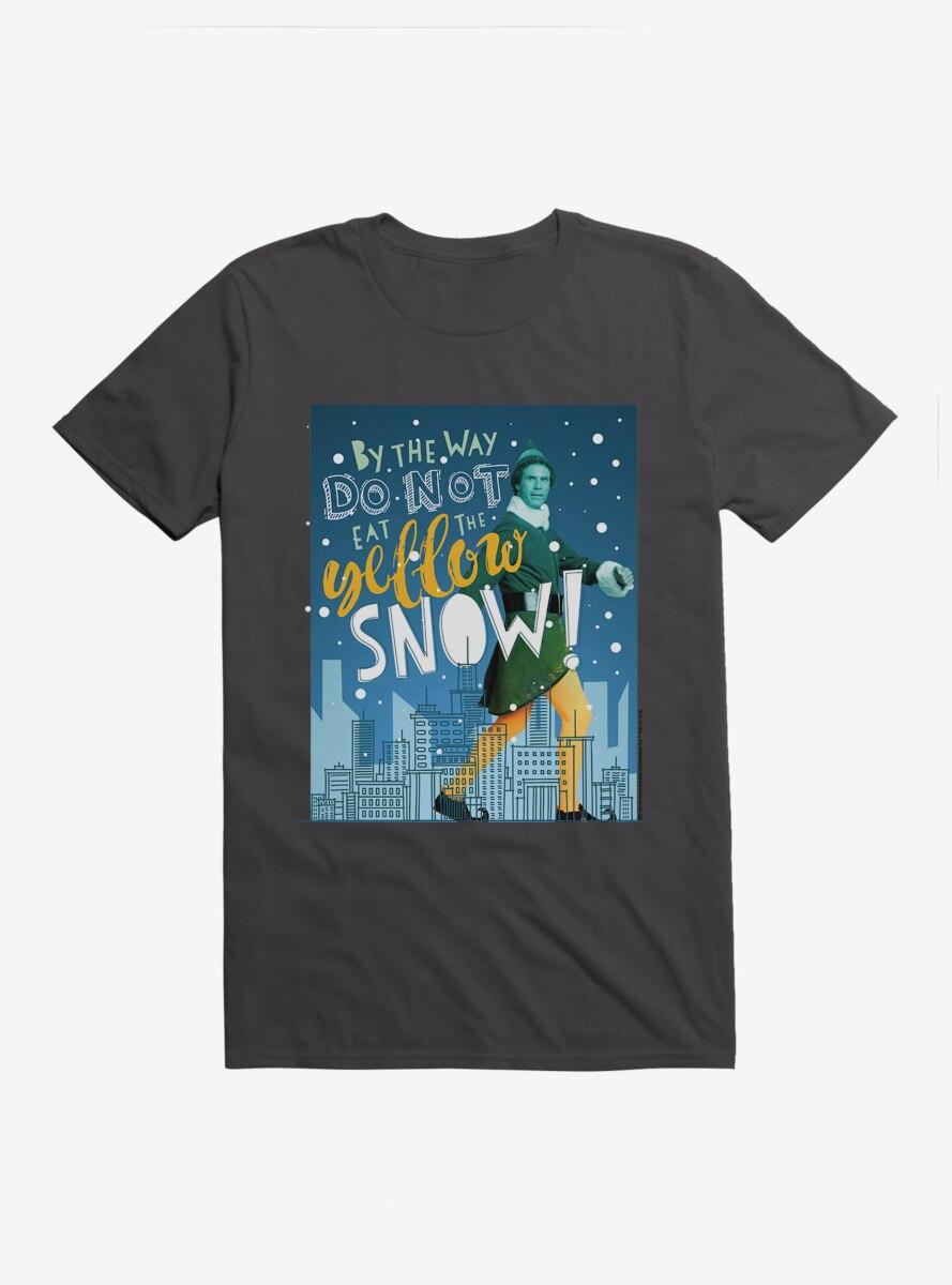 Elf Buddy Don't Eat Yellow Snow T-Shirt