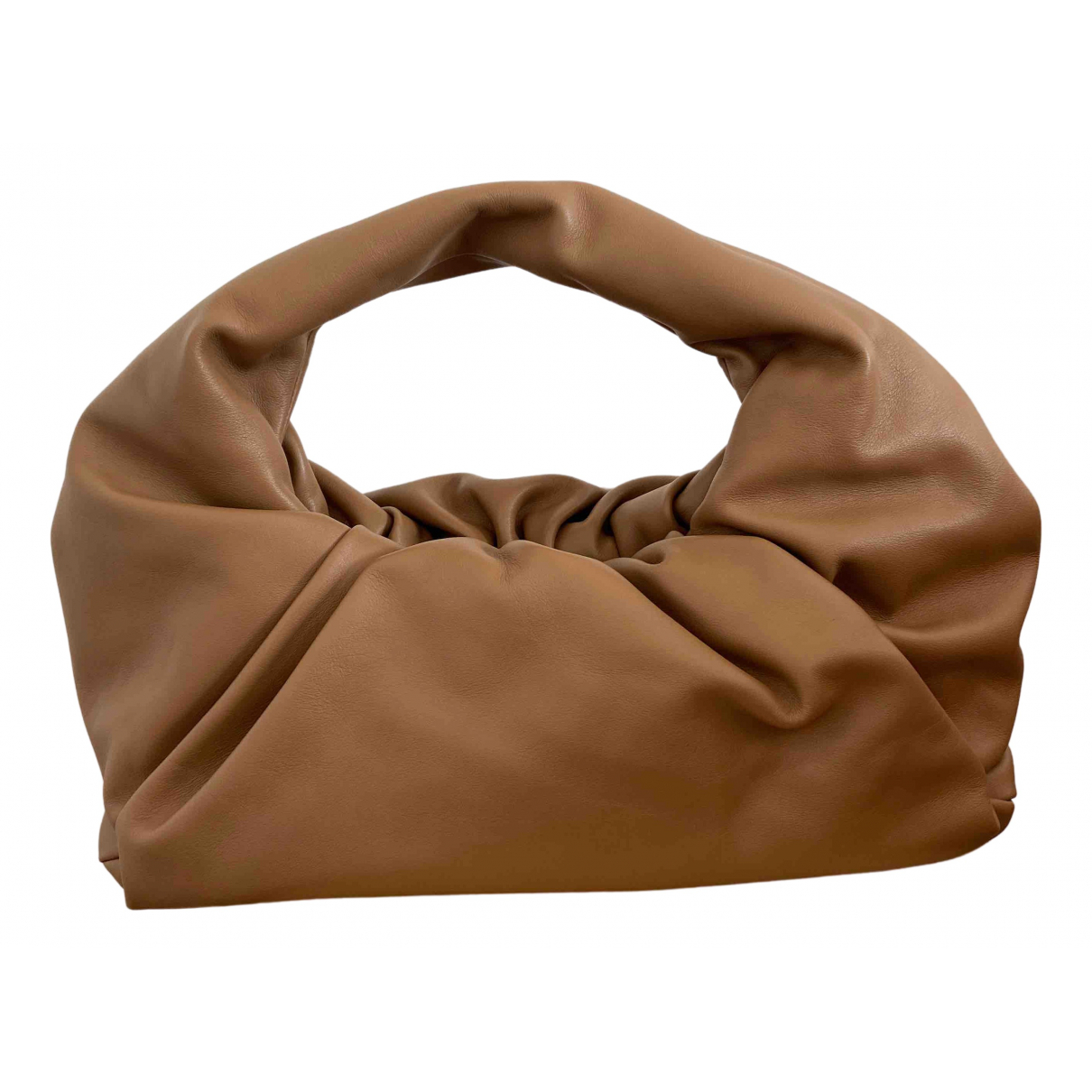 Bottega Veneta The Shoulder Pouch Camel Leather handbag for Women \N