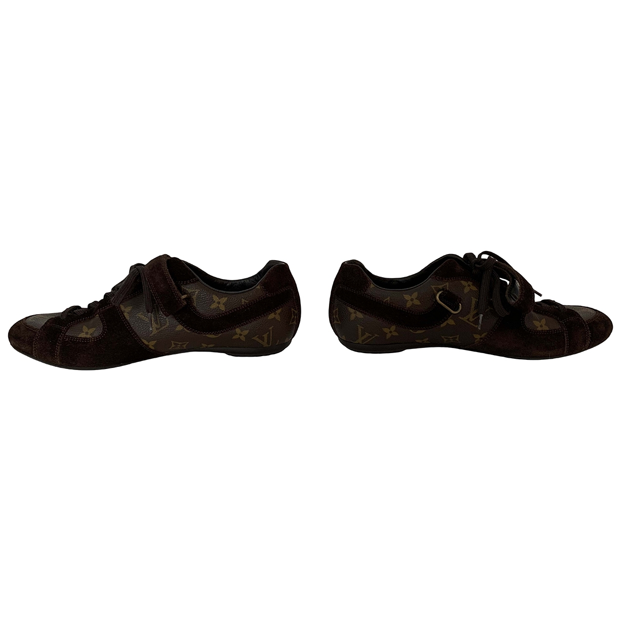 Louis Vuitton \N Brown Leather Trainers for Men 7 UK