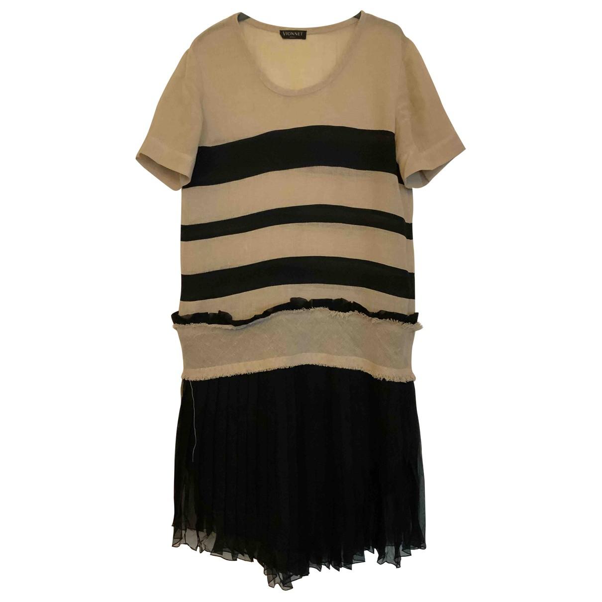 Vionnet \N Kleid in  Bunt Leinen