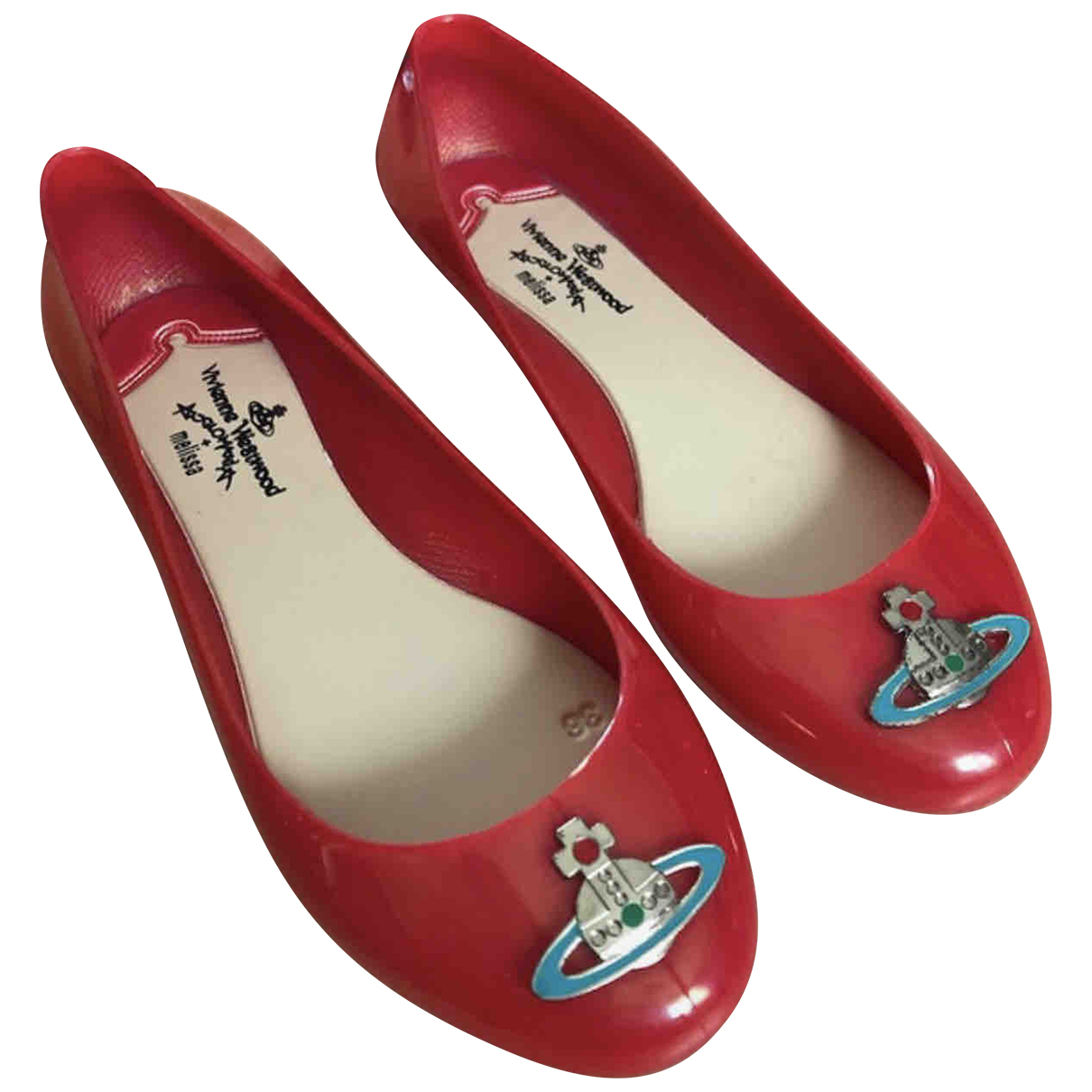 Vivienne Westwood Anglomania - Ballerines   pour femme - rouge