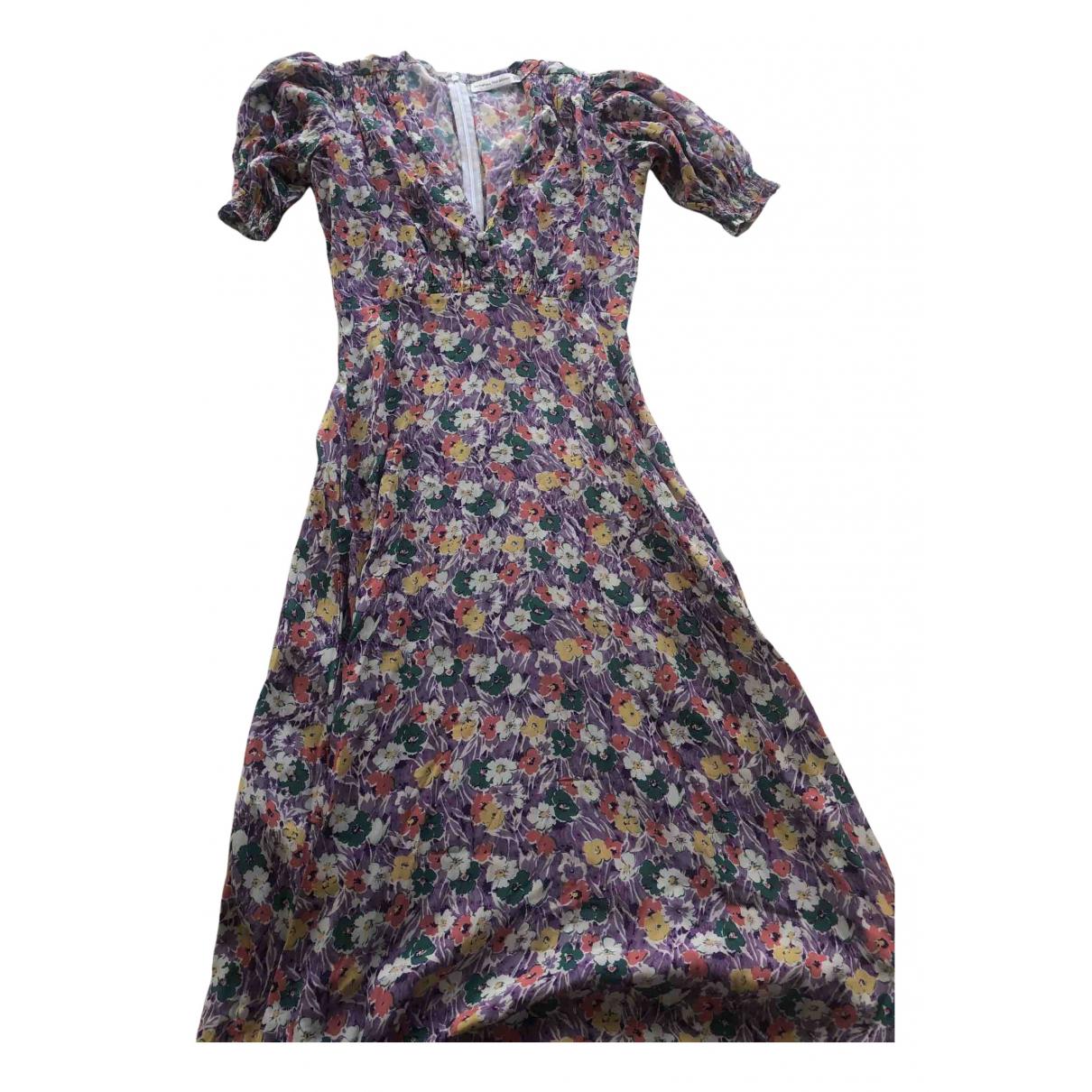 Faithfull The Brand \N Purple dress for Women 6 UK