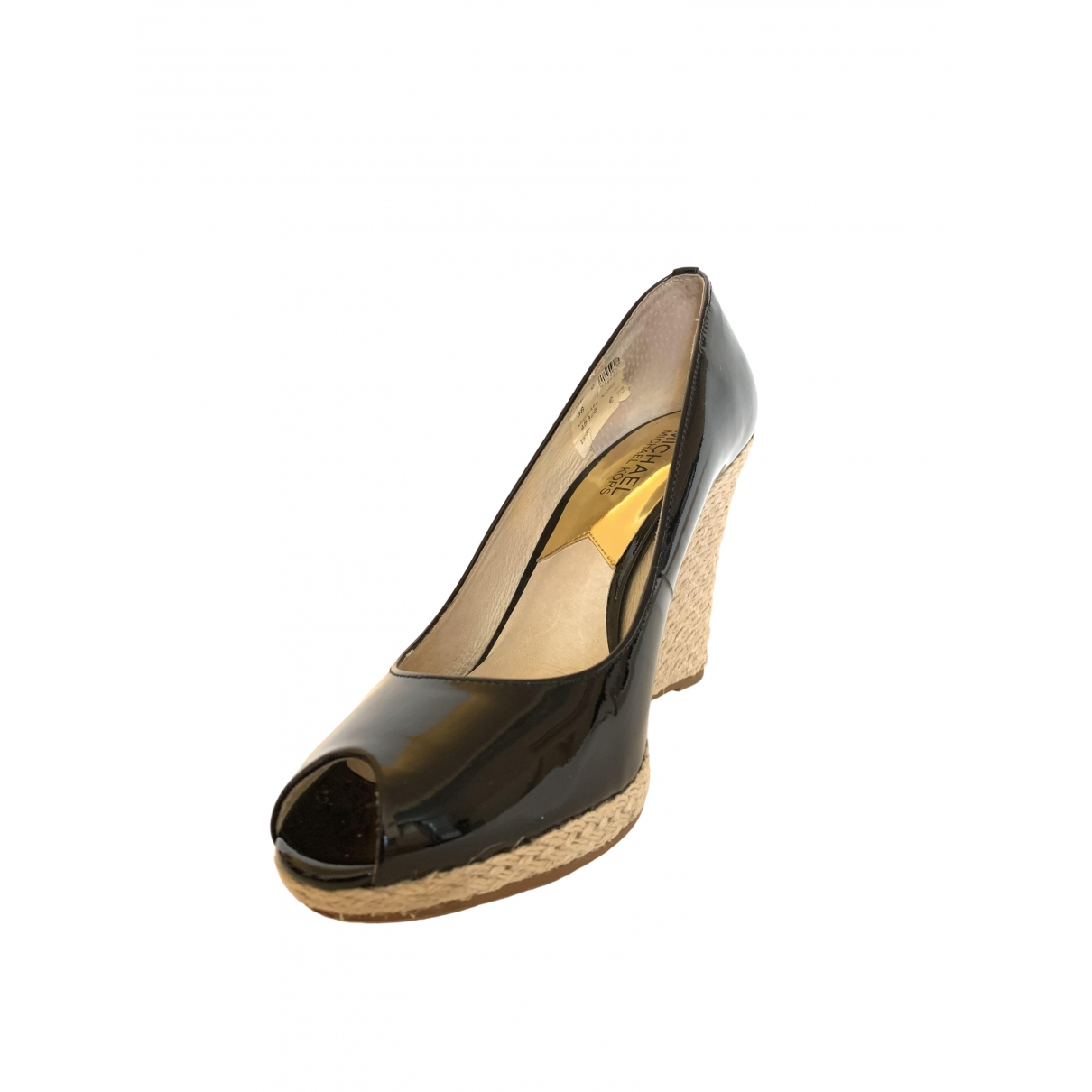 Michael Kors \N Black Patent leather Heels for Women 38 EU