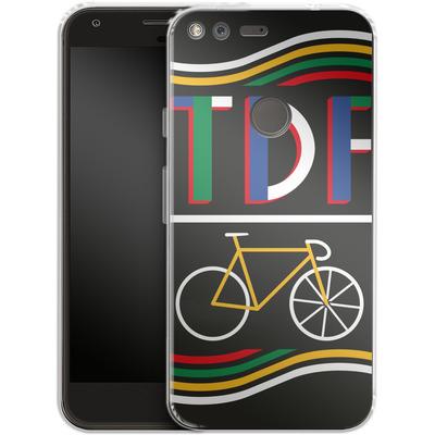 Google Pixel Silikon Handyhuelle - TDF Bike von Le Tour de France