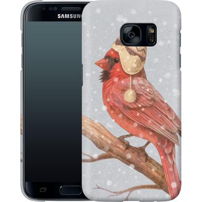Samsung Galaxy S7 Smartphone Huelle - First Snow von Terry Fan