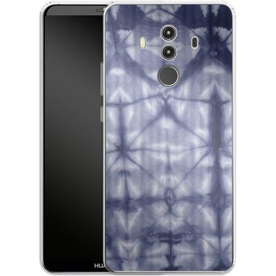 Huawei Mate 10 Pro Silikon Handyhuelle - Tie Dye 2 Navy von Amy Sia