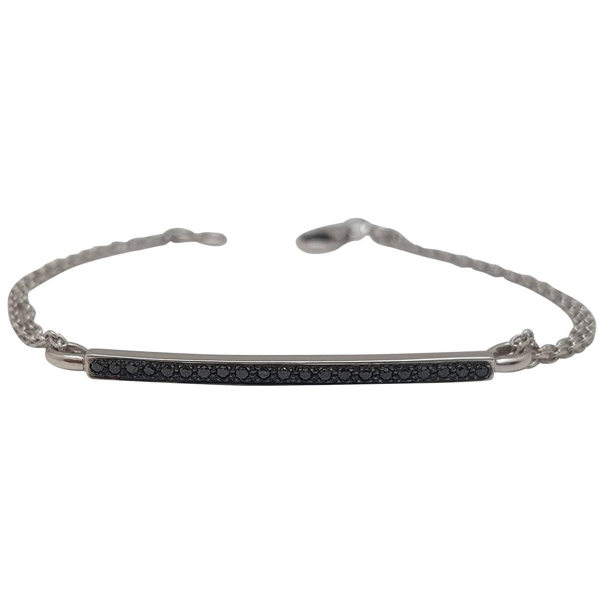 Non Signé / Unsigned \N Blue White gold bracelet for Women \N