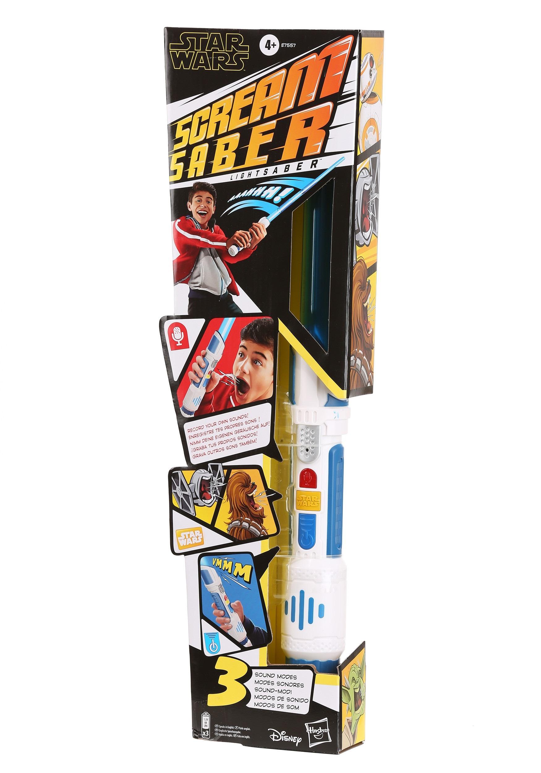 Star Wars Scream Saber Lightsaber with Sound Effects