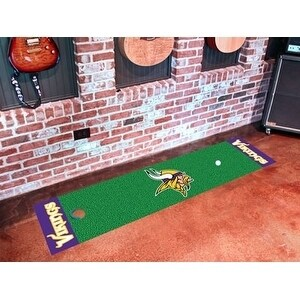NFL - Minnesota Vikings Putting Green Runner 18x72