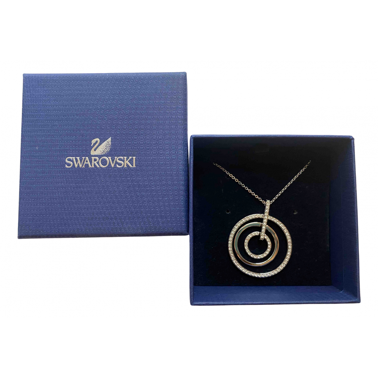 Swarovski \N White Crystal necklace for Women \N
