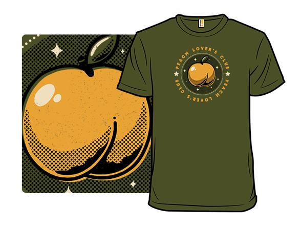 Peach Lover's Club T Shirt