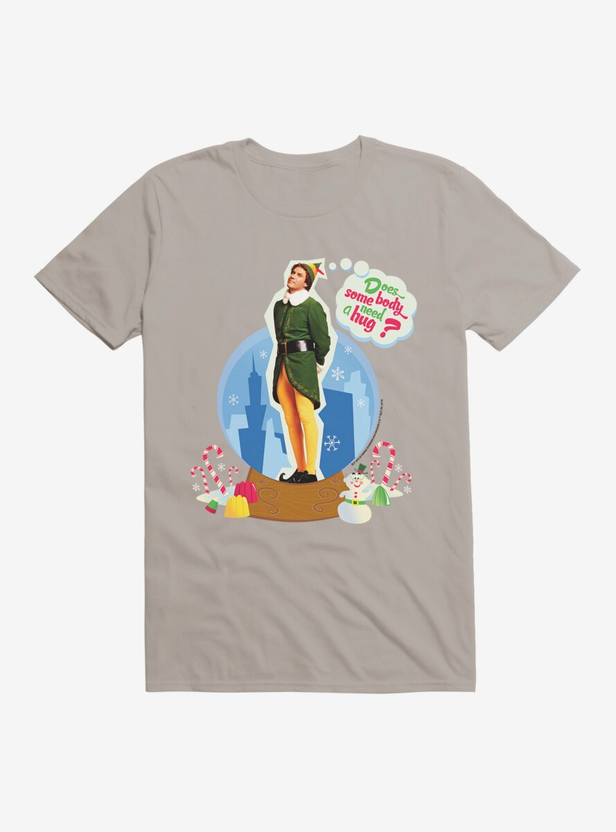 Elf Buddy Need A Hug T-Shirt