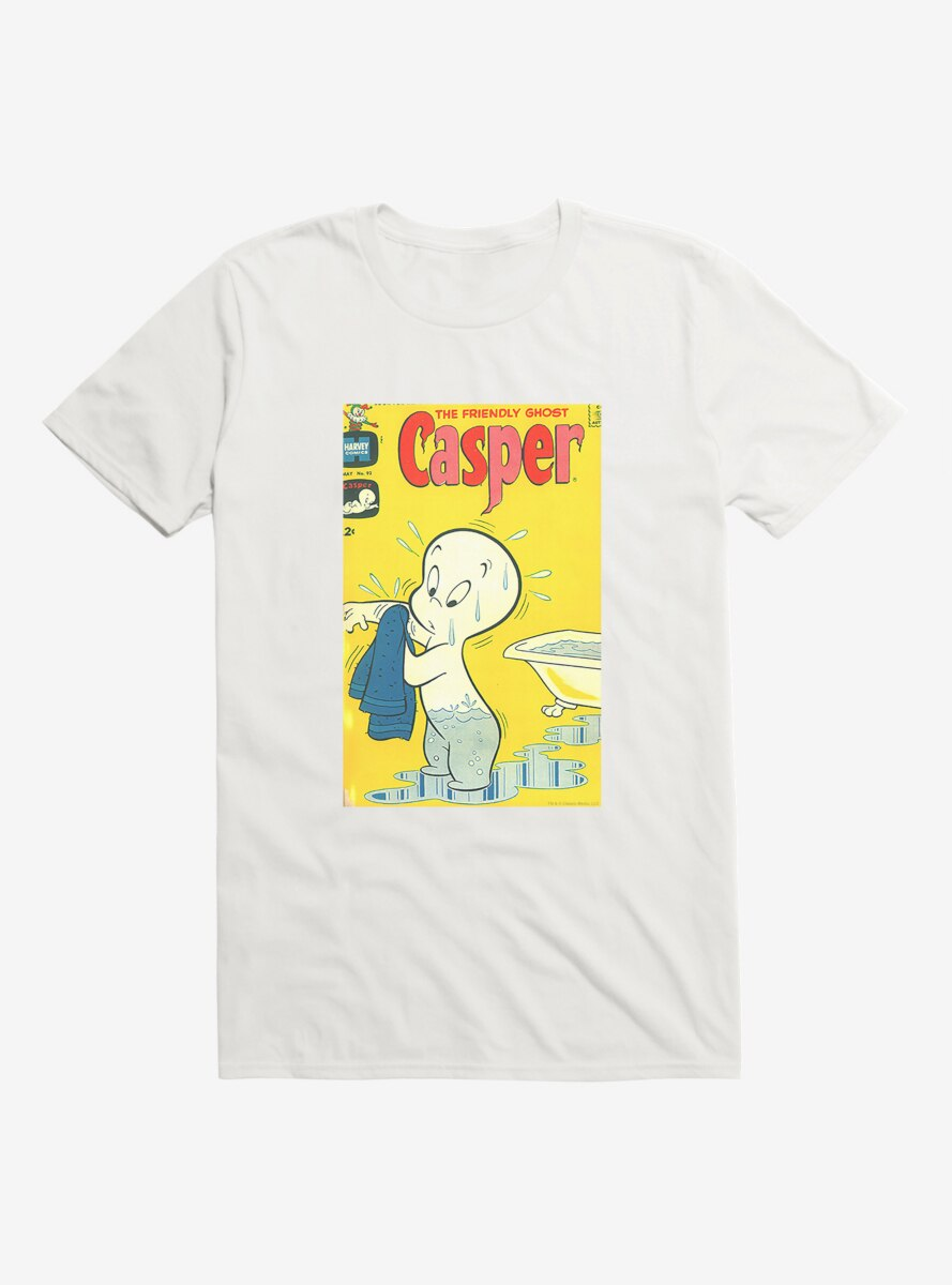 Casper The Friendly Ghost Bathtime T-Shirt