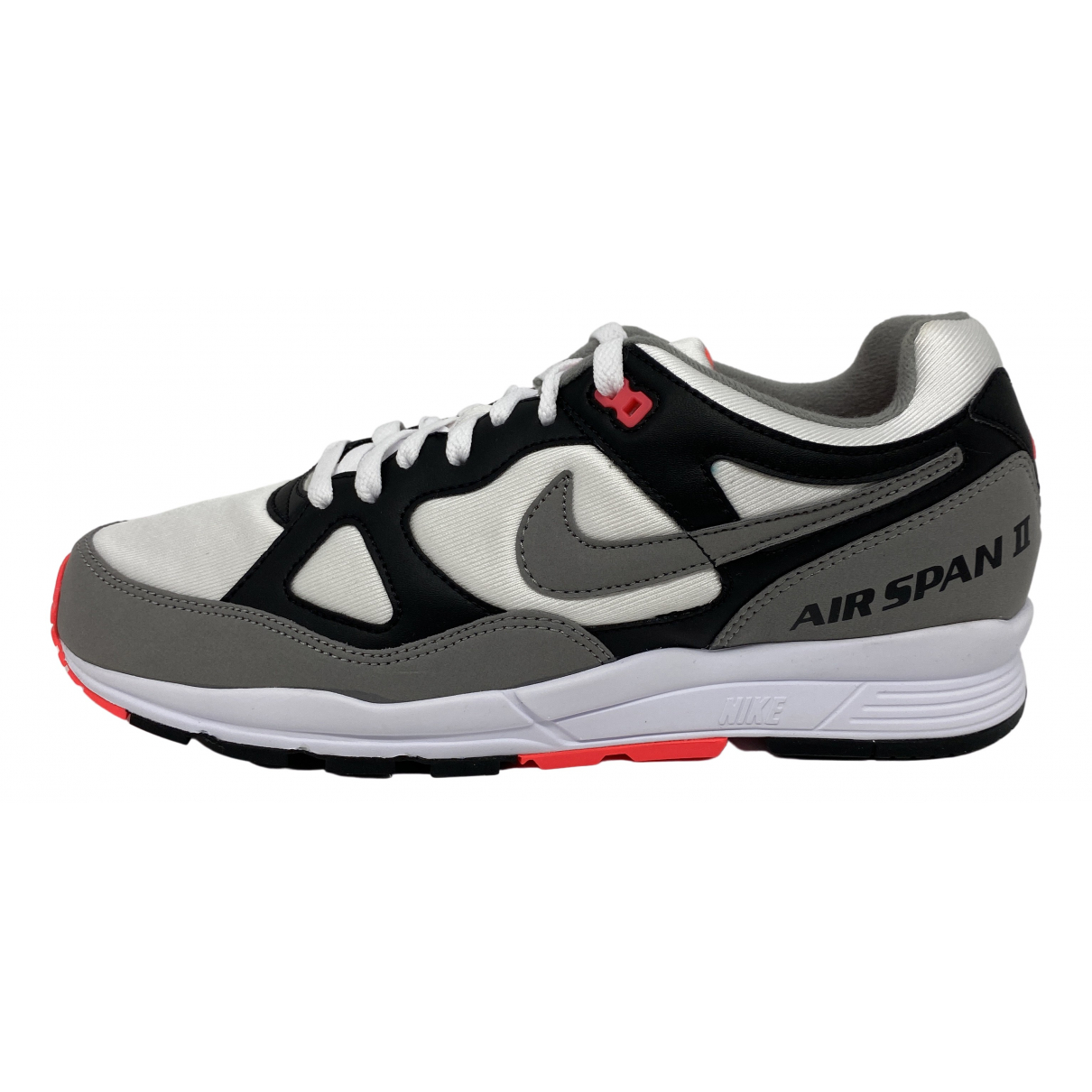Nike Air Span II Grey Leather Trainers for Men 44 EU