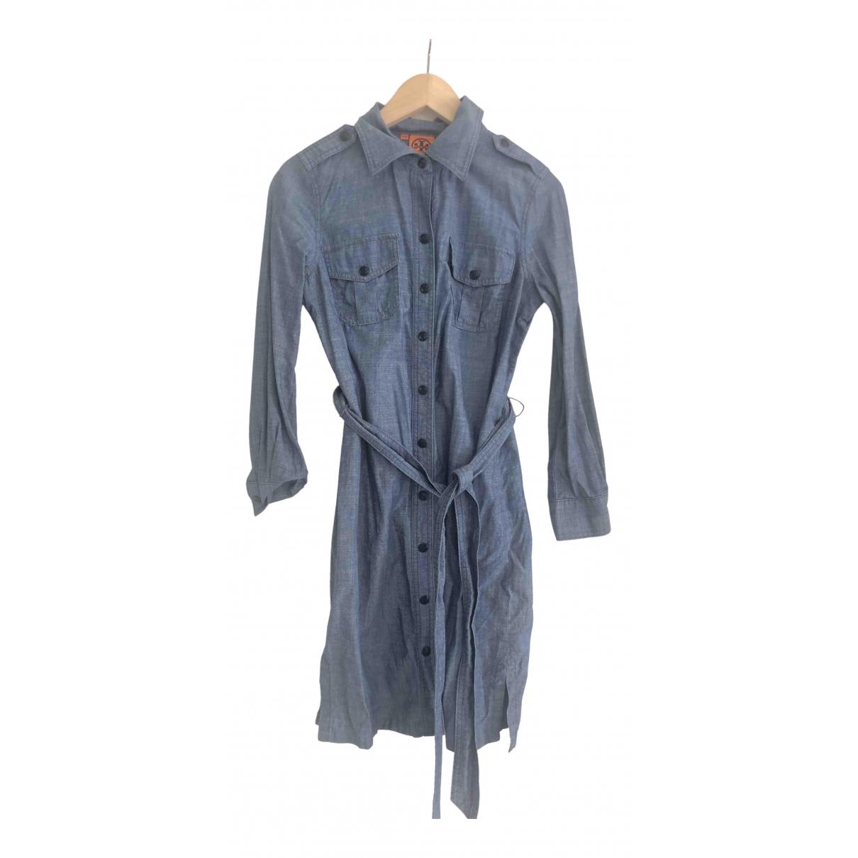 Tory Burch \N Blue Denim - Jeans dress for Women 4 US